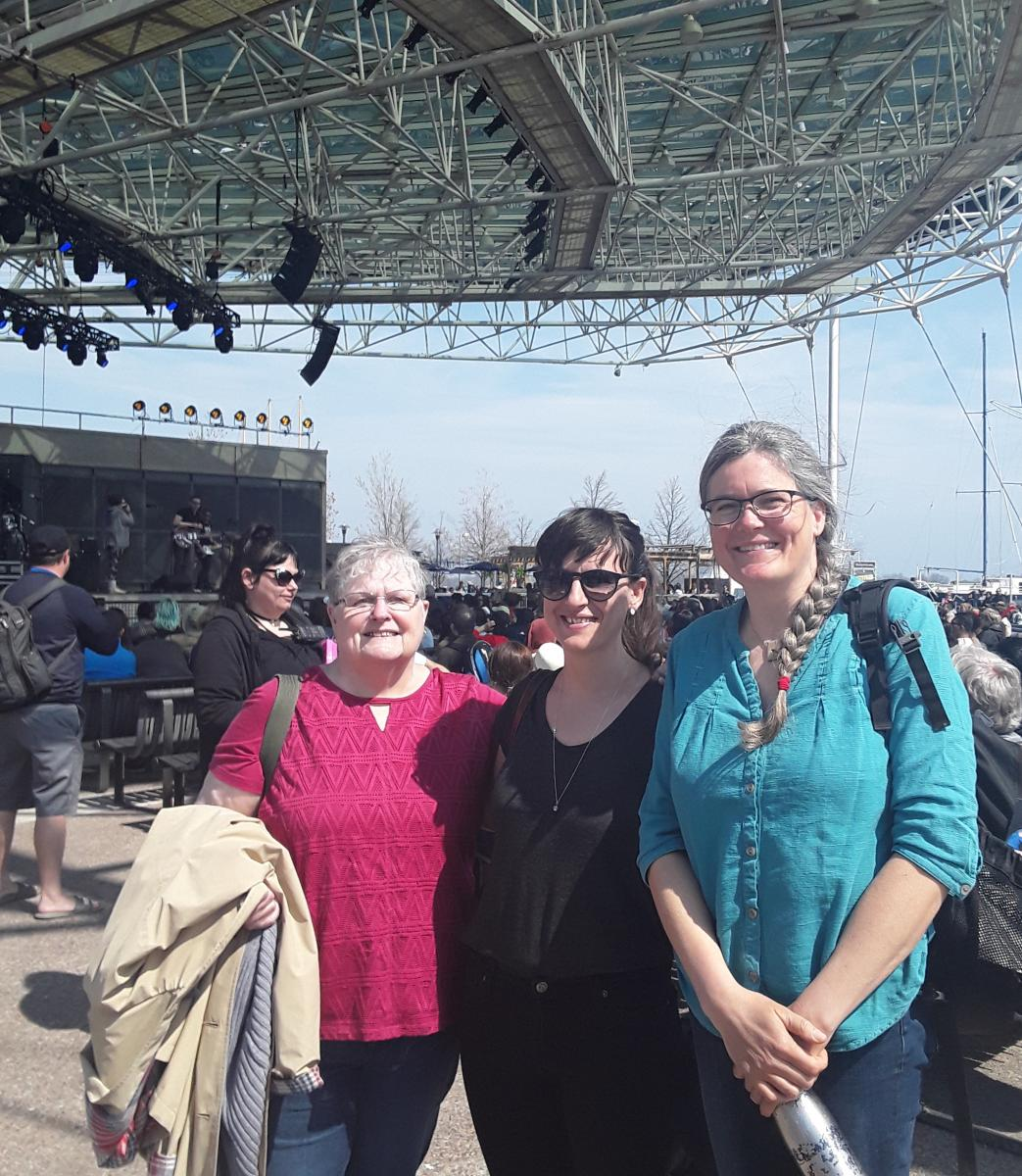 Three YA presenters at WeeFestival, Harbourfront Centre