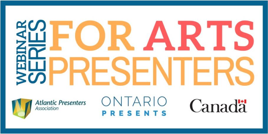 Webinar Series for Arts Presenting Logo